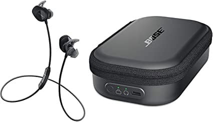 Bose Soundsport wireless earbud with charging case