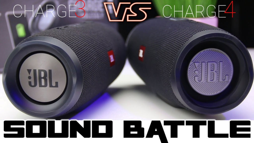 JBL Charge 4 vs Charge 3 sound quality